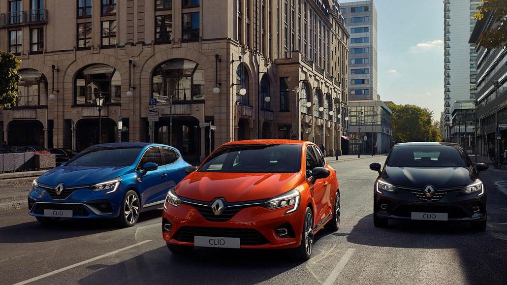 Nieuwe Renault Clio