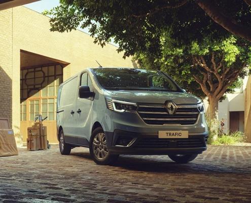 Nieuwe Renault Trafic